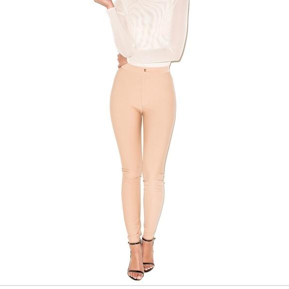 mistress rocks Pants - Mistress rocks ( house of CB) Nude pants